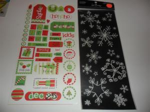 Winter/Christmas Embellishments - 3