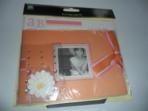 5x7 Peach Mini Book Kit